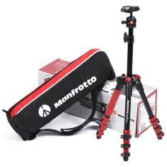 曼富图(Manfrotto)MKBFR1A4B-BH befree one微单相机铝合金三脚架旅行套装