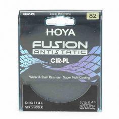保谷(HOYA)82mm 新品FUSION浮石防静电CPL偏振镜(超薄18层镀膜)